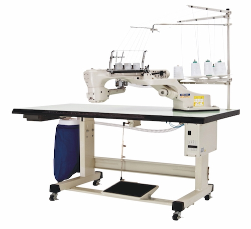 WR-700<span>4-Needle, 6-Thread, Feed-off-The-Arm, Interlock Stitch Machine For Flat Seaming. More Options For Your Efficiency And Convenience.</span>