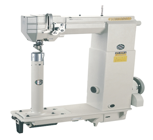 WR-998<span>Single Needle Small, Roller Feed, Postbed Sewing Machine With Wheel Feed , Needle Feed & Driven</span>