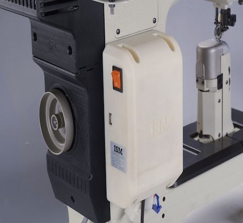 WR-984M<span>Double Needle Roller Feed Postbed Sewing Machine With Wheel Feed, Needle Feed & Driven</span>