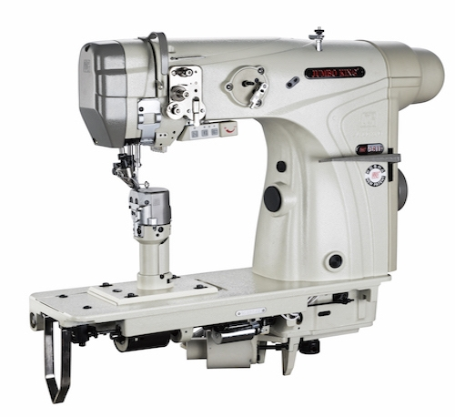 WR-9811<span>單針滾輪送上直驅式自動倒縫自動切短線針送自動抬押腳小釜羅拉車 (細小右梭座)</span>
