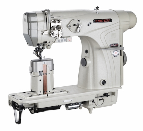 WR-982M<span>Double Needle Roller Feed Postbed Sewing Machine WITH WHEEL FEED, NEEDLE FEED & DRIVEN </span>