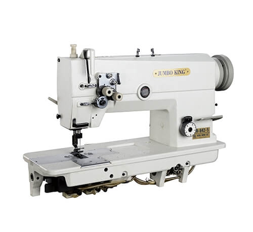 WR-842-5-Double Needle Flat Bed Sewing Machine